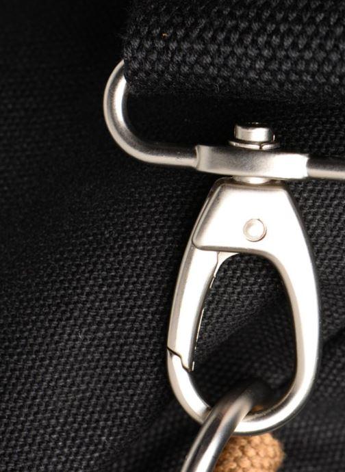Sporttassen Faguo DUFFLE01 Zwart links