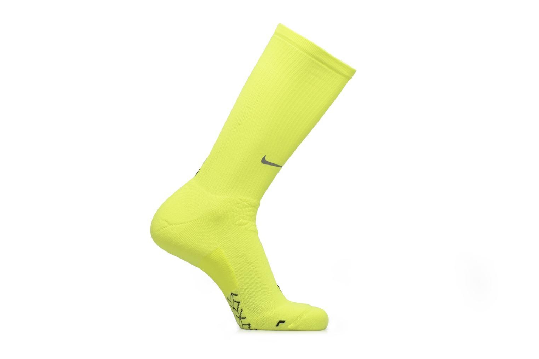 Chaussettes et collants Nike NIKE ELITE RUNNING CUSHION CRE Jaune vue détail/paire