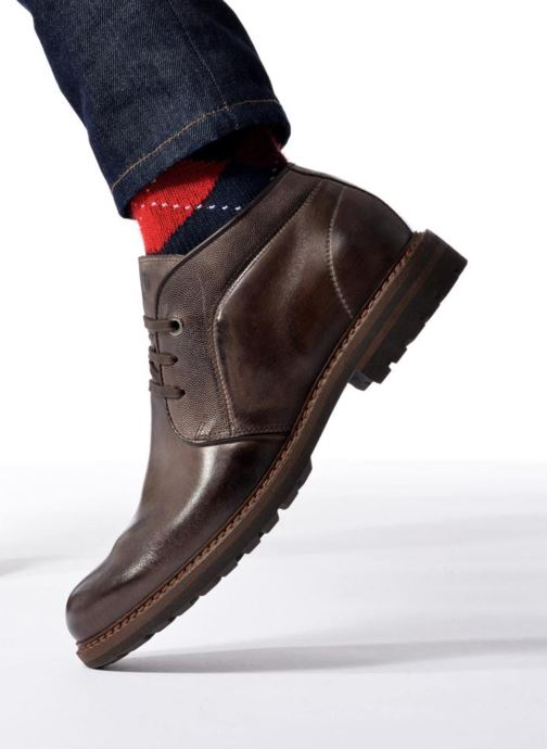 Ankle boots Mr SARENZA Nicolli Brown view from underneath / model view