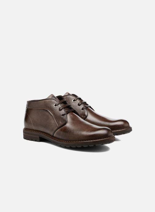 Boots en enkellaarsjes Mr SARENZA Nicolli Bruin achterkant
