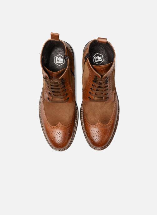 Bottines et boots Mr SARENZA Nanti Marron vue portées chaussures