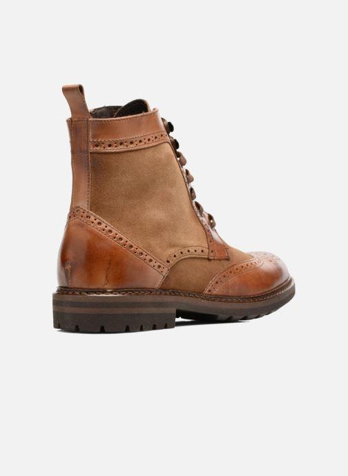 Bottines et boots Mr SARENZA Nanti Marron vue face