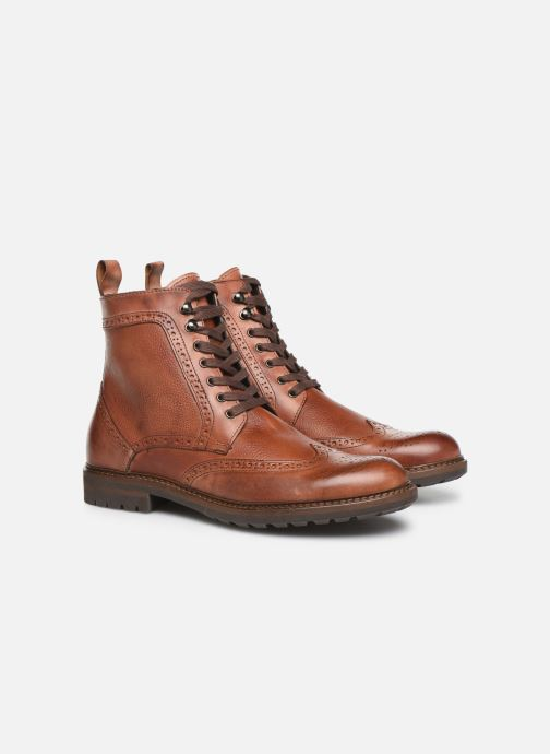 Boots en enkellaarsjes Mr SARENZA Nanti Bruin achterkant
