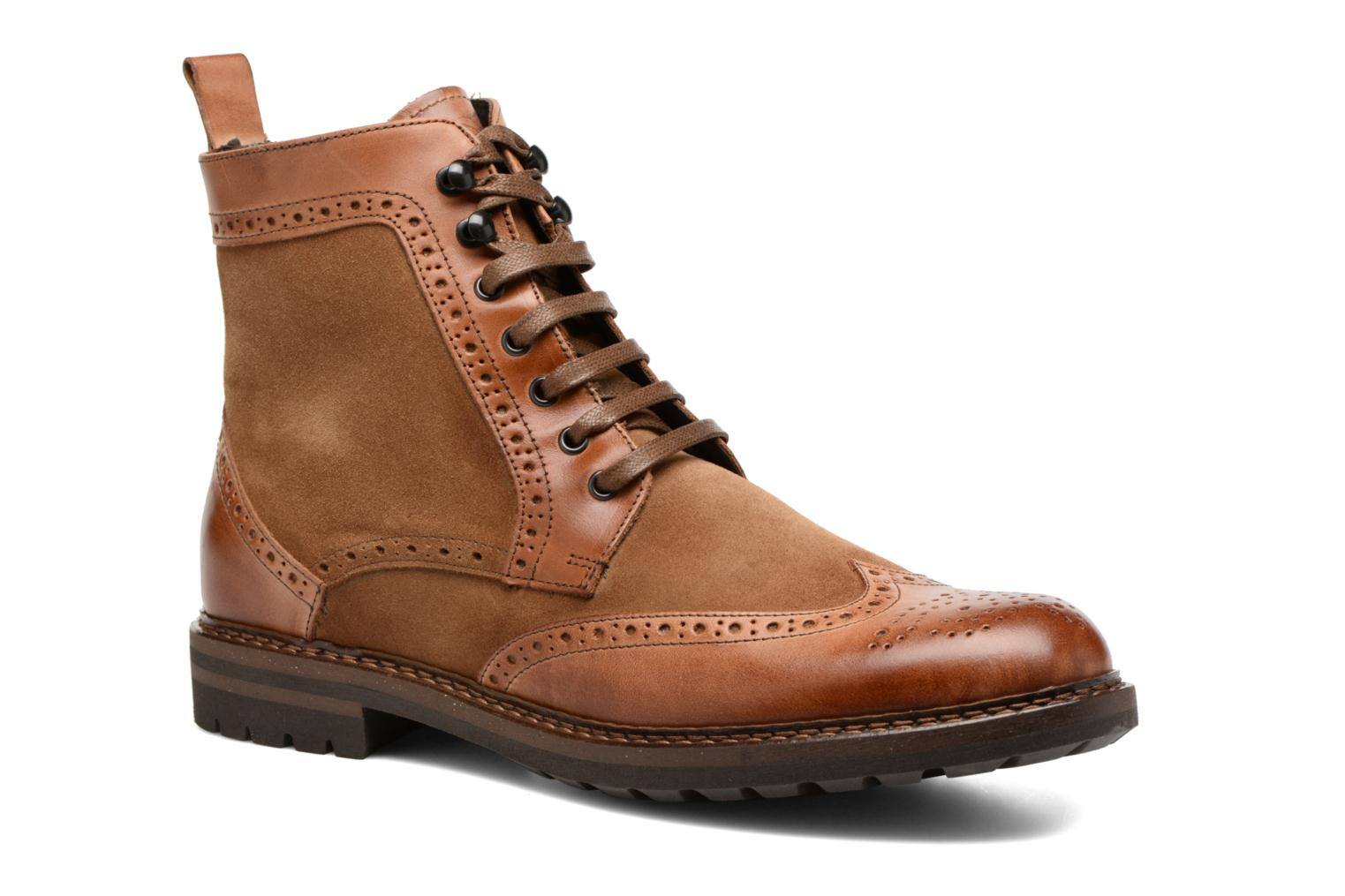 Ankle boots Mr SARENZA Nanti Brown view from the right