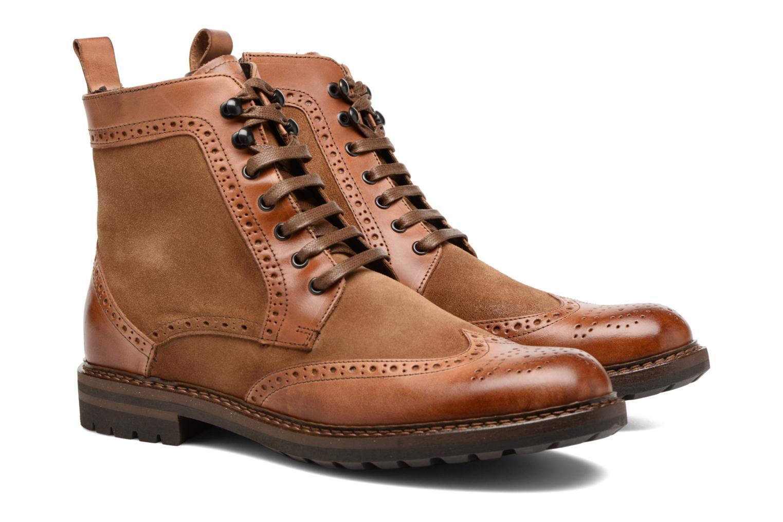 Ankle boots Mr SARENZA Nanti Brown back view