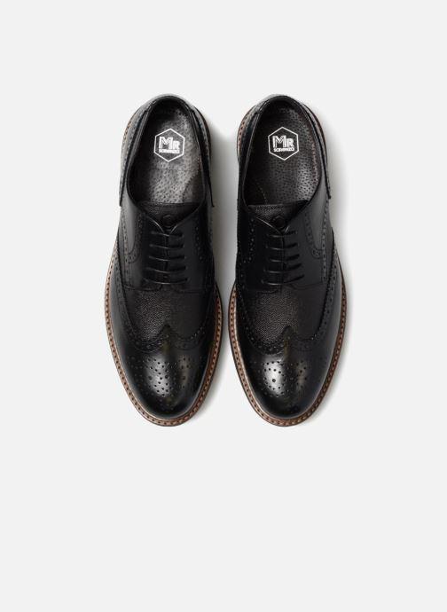 Chaussures à lacets Mr SARENZA Nubia Noir vue portées chaussures