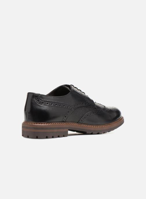 Chaussures à lacets Mr SARENZA Nubia Noir vue face