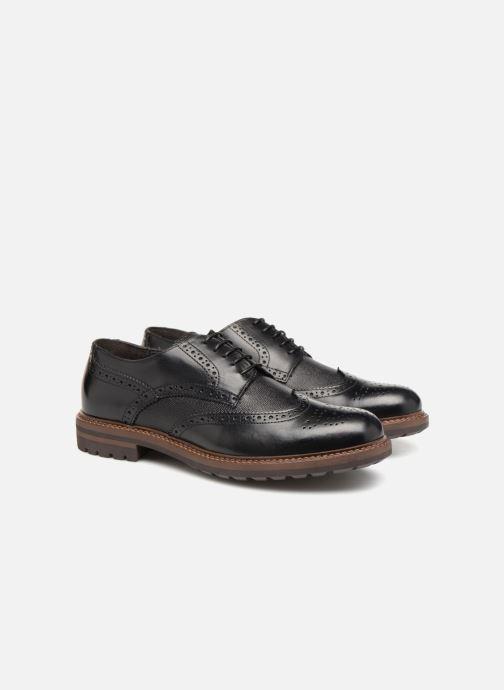 Chaussures à lacets Mr SARENZA Nubia Noir vue derrière