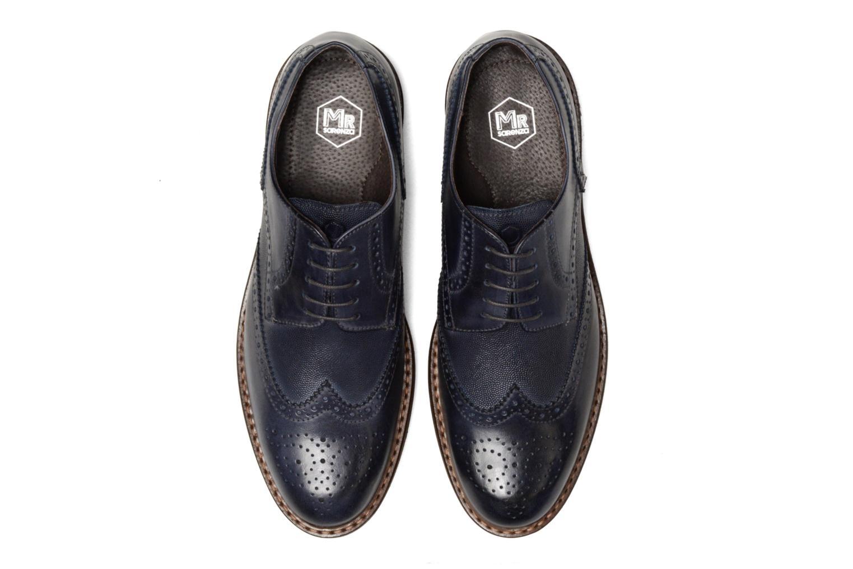 Chaussures à lacets Mr SARENZA Nubia Bleu vue portées chaussures