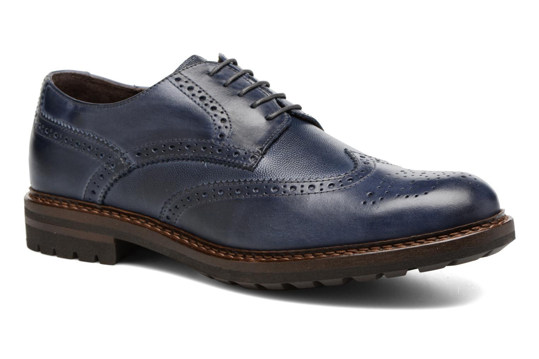 Chaussures à lacets Mr SARENZA Nubia Bleu vue droite