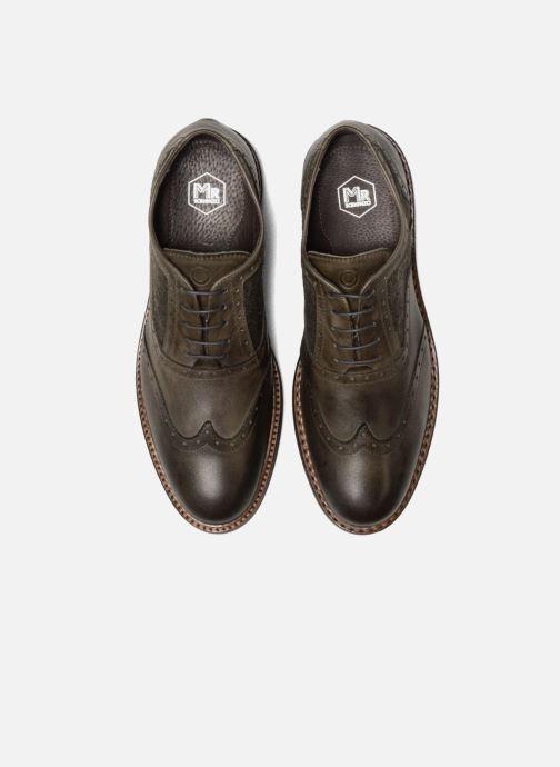Chaussures à lacets Mr SARENZA Nelaton Vert vue portées chaussures