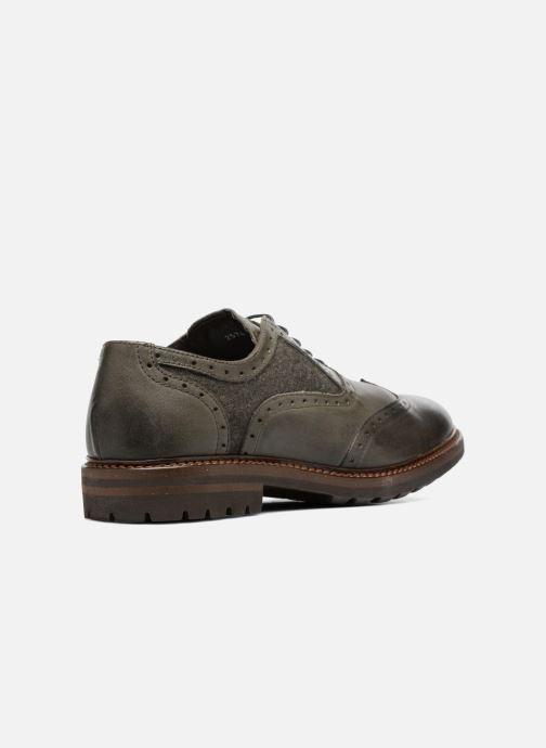 Zapatos con cordones Mr SARENZA Nelaton Verde vista de frente