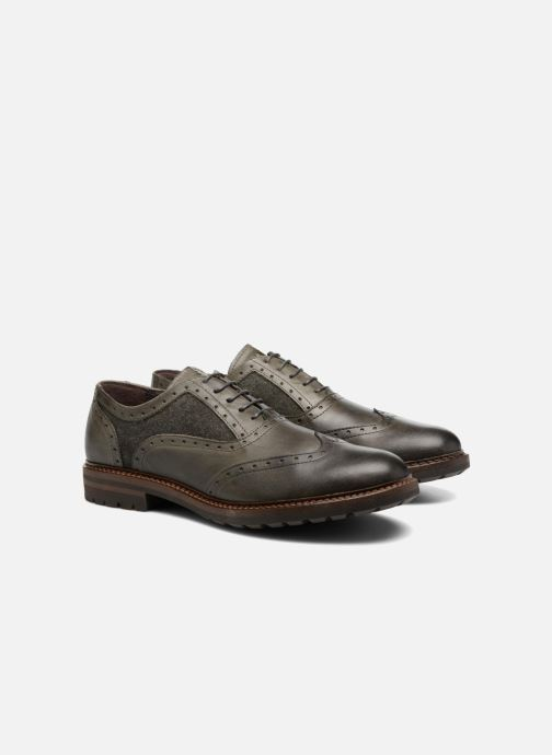 Zapatos con cordones Mr SARENZA Nelaton Verde vistra trasera