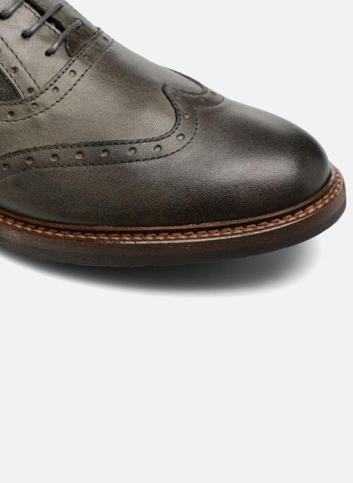 Zapatos con cordones Mr SARENZA Nelaton Verde vista lateral izquierda