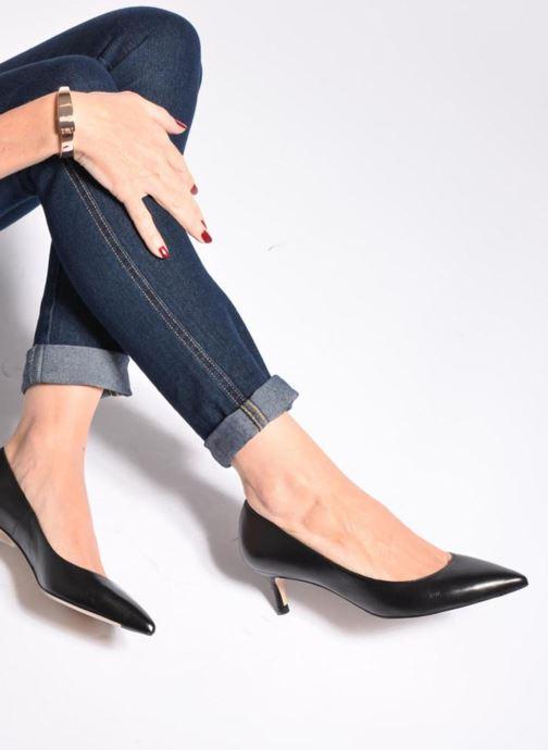 High heels L.K. Bennett Audrey Black view from underneath / model view