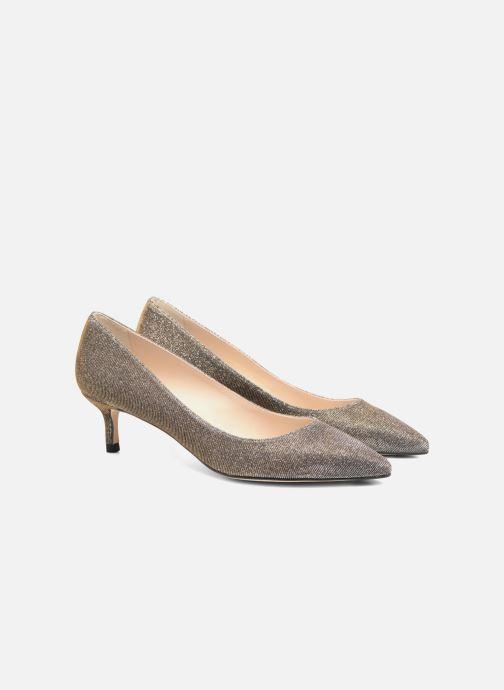 High heels L.K. Bennett Audrey Silver 3/4 view