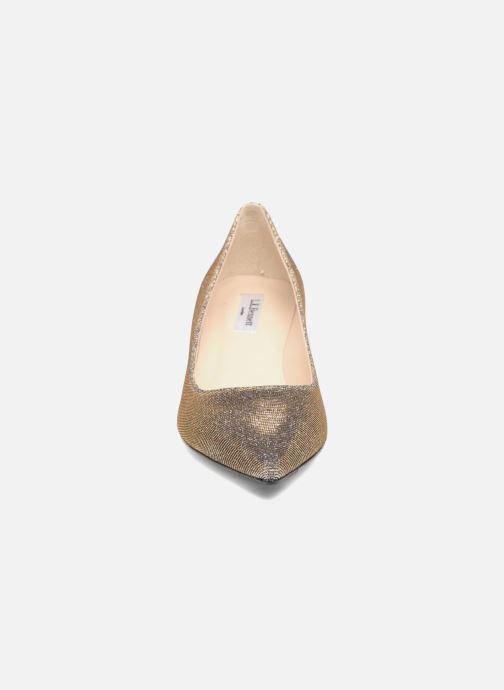 Escarpins L.K. Bennett Audrey Argent vue portées chaussures