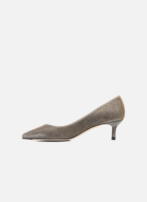 High heels L.K. Bennett Audrey Silver front view