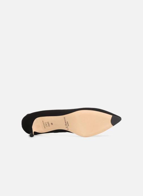 Zapatos de tacón L.K. Bennett Audrey Negro vista de arriba
