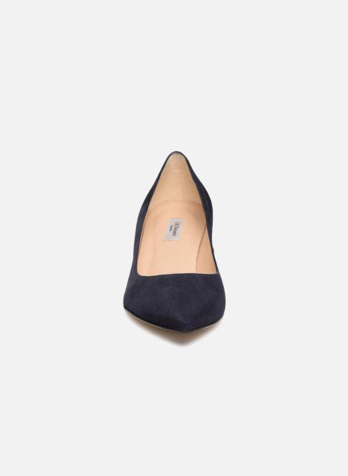 Escarpins L.K. Bennett Audrey Bleu vue portées chaussures