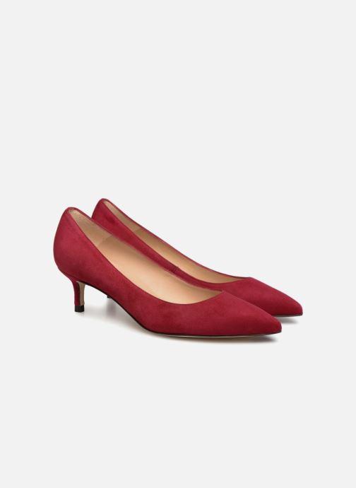 Zapatos de tacón L.K. Bennett Audrey Rojo vista 3/4
