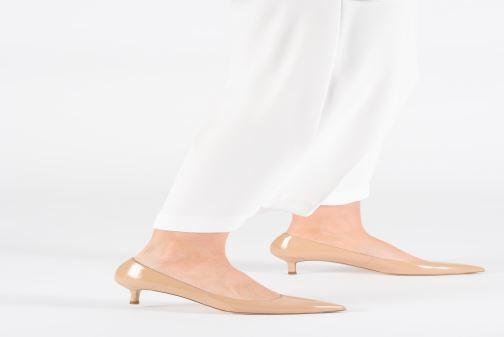 Zapatos de tacón L.K. Bennett Audrey Rojo vista de abajo