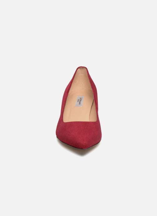 Escarpins L.K. Bennett Audrey Rouge vue portées chaussures
