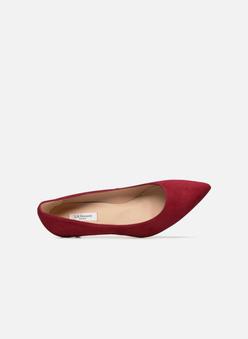 Zapatos de tacón L.K. Bennett Audrey Rojo vista lateral izquierda