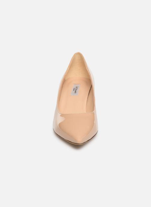 Escarpins L.K. Bennett Audrey Beige vue portées chaussures