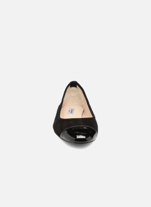 Ballerines L.K. Bennett Suzanne Noir vue portées chaussures