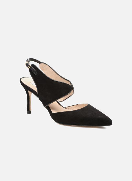 Høje hæle L.K. Bennett Cecily Sort detaljeret billede af skoene