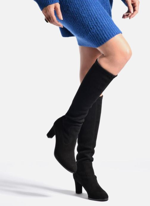 Boots & wellies L.K. Bennett Angelica Black view from underneath / model view