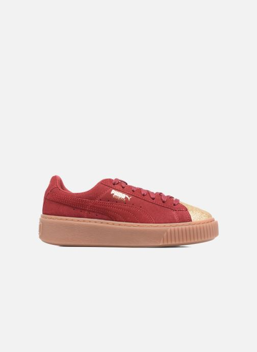 Sneaker Puma PS Suede Platform Glam/Jr Suede Platform Glam weinrot ansicht von hinten