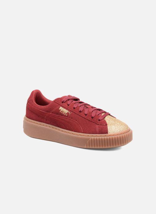 Sneaker Puma PS Suede Platform Glam/Jr Suede Platform Glam weinrot detaillierte ansicht/modell