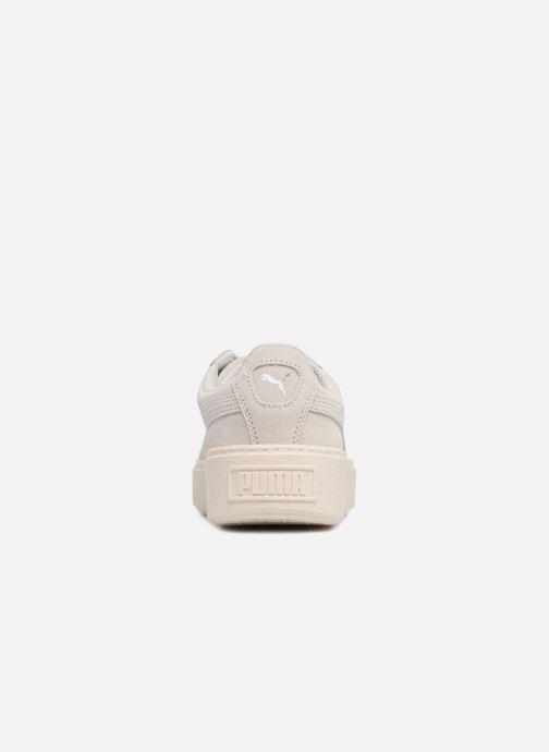 Sneaker Puma PS Suede Platform Glam/Jr Suede Platform Glam grau ansicht von rechts