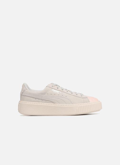 Sneaker Puma PS Suede Platform Glam/Jr Suede Platform Glam grau ansicht von hinten