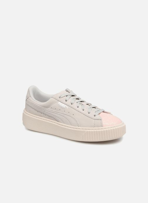 Sneaker Puma PS Suede Platform Glam/Jr Suede Platform Glam grau detaillierte ansicht/modell