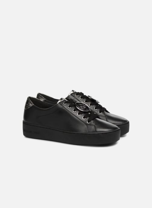 Sneakers Michael Michael Kors Poppy Lace Up Zwart 3/4'