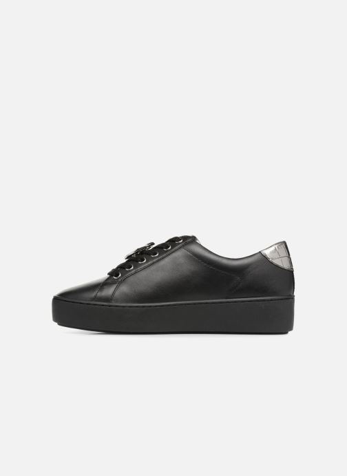 Sneakers Michael Michael Kors Poppy Lace Up Zwart voorkant
