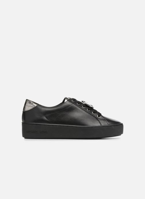 Sneakers Michael Michael Kors Poppy Lace Up Zwart achterkant