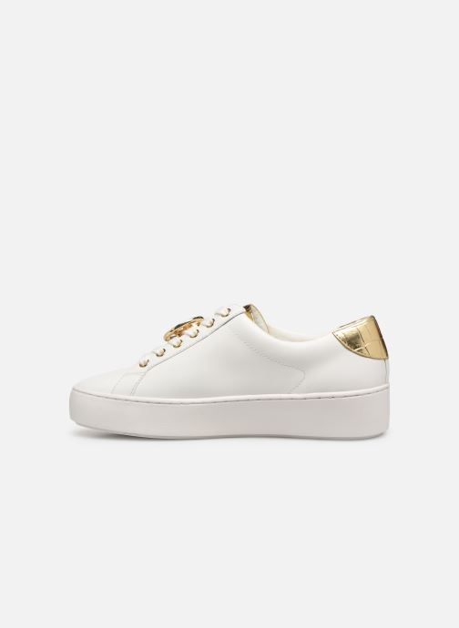 Deportivas Michael Michael Kors Poppy Lace Up Blanco vista de frente