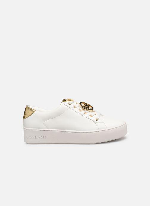 Sneaker Michael Michael Kors Poppy Lace Up weiß ansicht von hinten