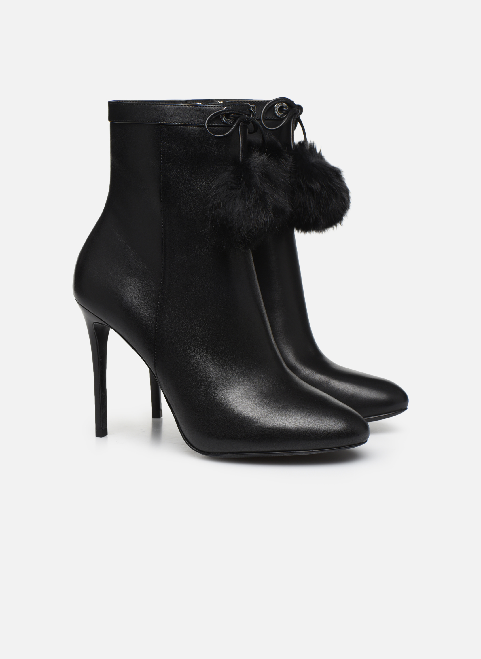 Bottines et boots Michael Michael Kors Remi Bootie Noir vue 3/4