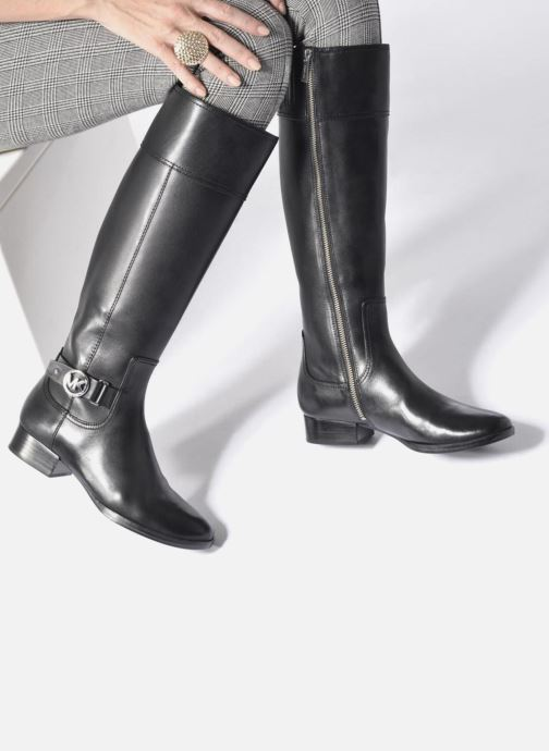 db0bb855e0dd Boots   wellies Michael Michael Kors Harland Boot Black view from  underneath   model view