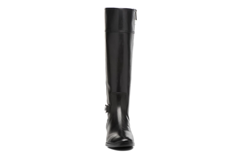 Bottes Michael Michael Kors Harland Boot Noir vue portées chaussures