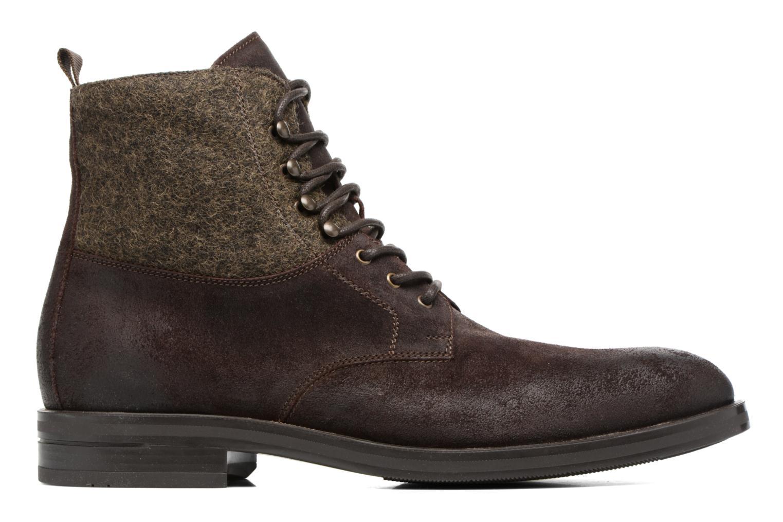 Boots en enkellaarsjes Heyraud FRITZ Bruin achterkant