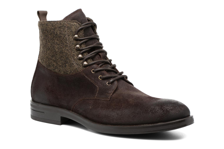 Boots en enkellaarsjes Heyraud FRITZ Bruin detail