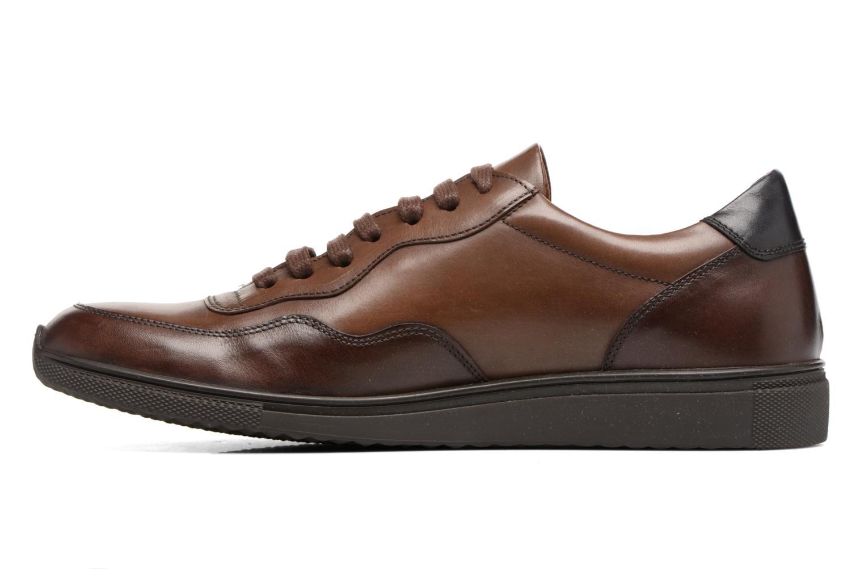 Sneakers Heyraud FARELL Bruin voorkant