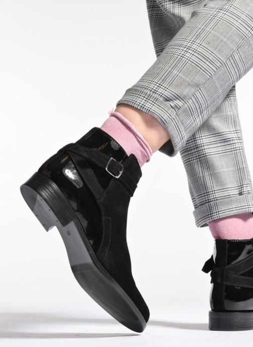Bottines et boots PintoDiBlu Nina Marron vue bas / vue portée sac