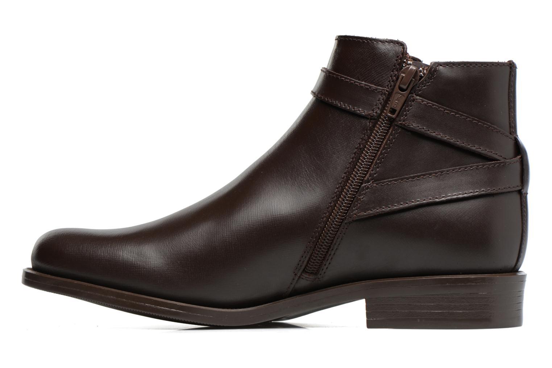 Bottines et boots PintoDiBlu Nina Marron vue face